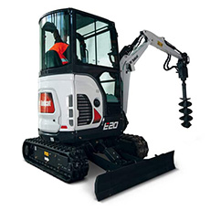 th Bobcat E20 minikotro