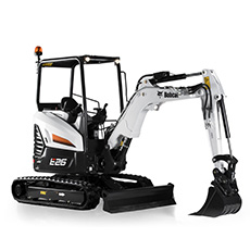 th Bobcat E26 minikotro